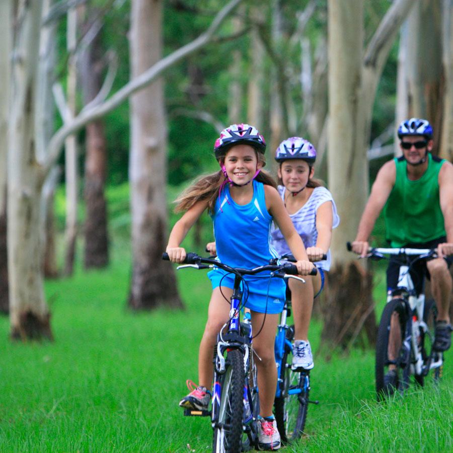 Bike paths around Toowoomba Region