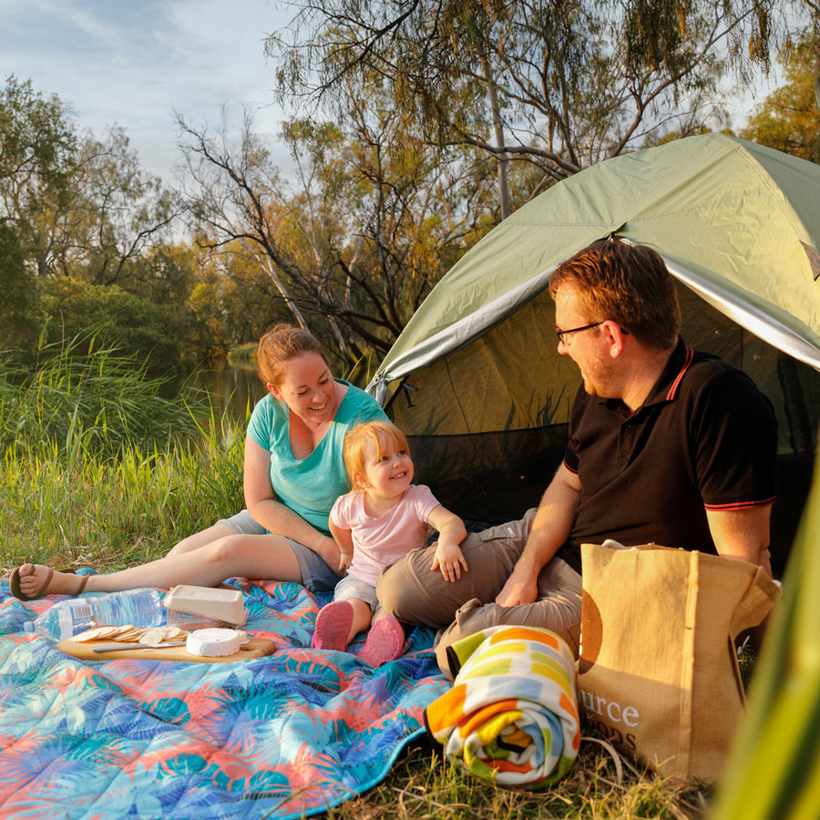 Camping Bowenville Reserve