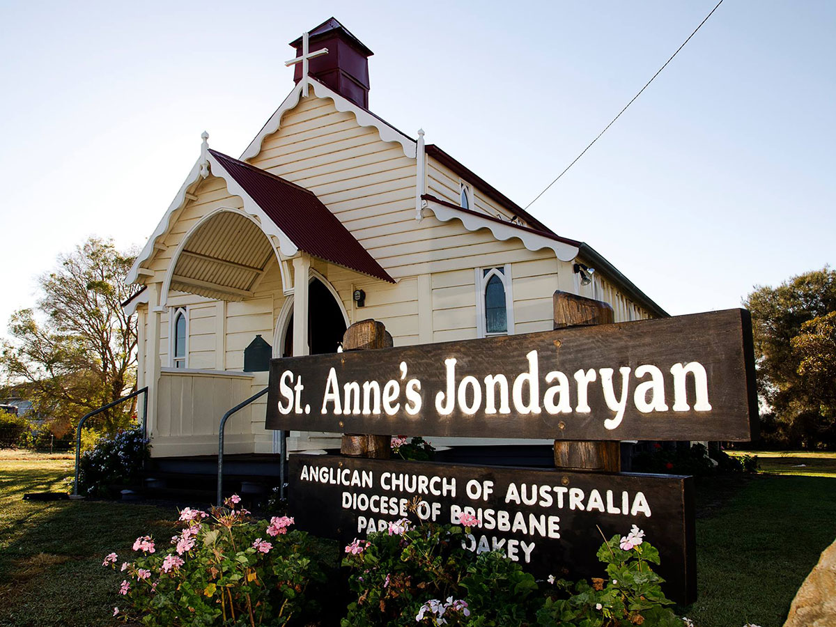 Six heritage listed churches in the Toowoomba Region