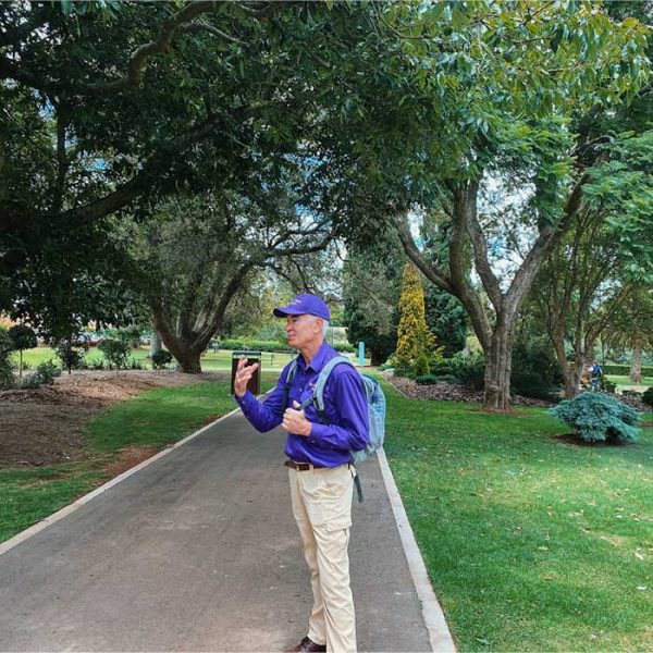 Tour Guide from walking tours of toowoomba